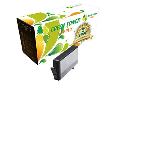 Green Toner Supply Compatible Ink Cartridge Replacement for HP 564XL (Photo Black)