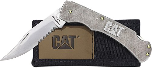 Caterpillar 11-C18101CP 5-Inch Stainless Lockback Knife by Caterpillar (Image #1)