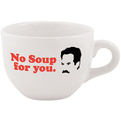 Seinfeld Classic Television No Soup For You 24 Ounce Ceramic Coffee Cup Mug