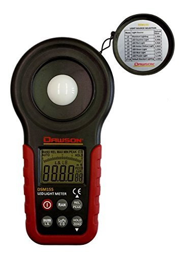 Dawson DSM155 Digital LED Light Meter
