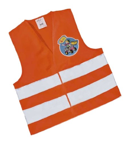 rolly toys 558698  Rollysavety Vest | Children's High Visibility Vest | Orange | TÜ V/GS-Tested Vest