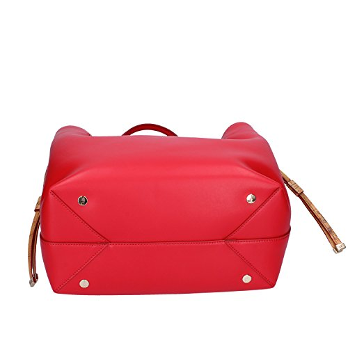 a Borsa Donna Leather ALVIERO Tracolla CLASSE Medium Leather MARTINI Ovine Rosso 1 Bovine mano wWCIxxUqf