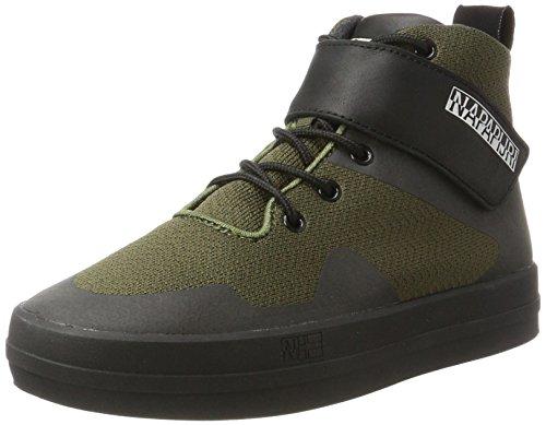 Mehrfarbig a Collo Donna Sneaker FOOTWEAR Dark Olive NAPAPIJRI Dahlia Alto gyppA