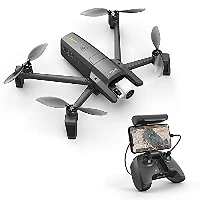 Parrot Anafi Drone - Ultra Compact Flying 4K HDR Camera, Dark Grey (Certified Refurbished)