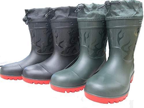 【66-85】ROUTE66 長靴 ショートブーツ 【先芯】 雨 水 防水 【防災】ルート66