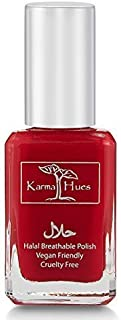 product image for Karma Organic Halal Nail Polish Certified - Truly Breathable Cruelty Free and Vegan - Oxygen Permeable Wudu Friendly Nail Enamel (RABIA)