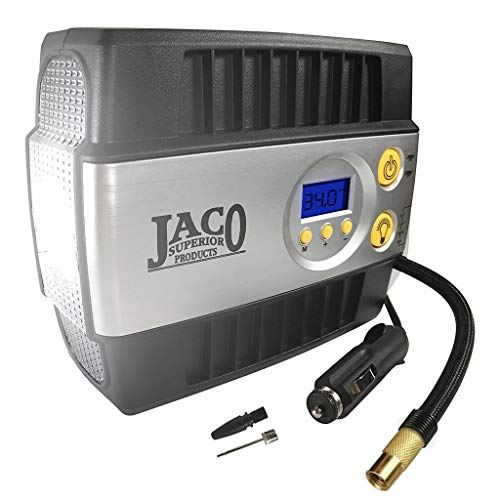 JACO SmartPro Digital Tire Inflator Pump - Premium 12V Portable Air Compressor - 100 - Air 100