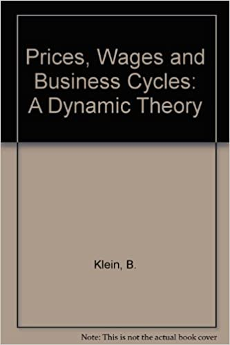 amazon prices wages and business cycles a dynamic theory