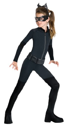 Batman Dark Knight Rises Tween Catwoman Costume - Tween (Catwoman Halloween Costume Dark Knight Rises)