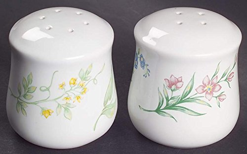 CORELLE My Garden Pepper & Salt Shakers ~ Very Hard to Find~Discontinued 1999-2004