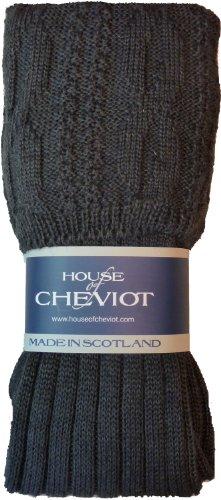 Glenmore Kilt Socks (Medium (8.5-10.5), Charcoal) (Kilt Hose compare prices)