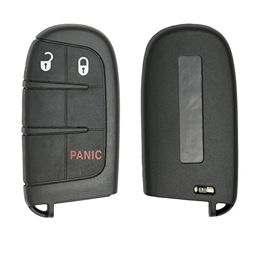 New Replacement Shell Case for 3 Button Proximity Remote Gen 4 for Select Chrysler Dodge Jeep SHELL ONLY