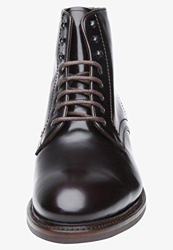 Shoepassion N. Scarpe Invernali 669wi Qualità Per Gli Uomini. Stivali In Pelle Pieno Con Accogliente Alimentazione Shearling E Suola In Gomma Antiscivolo. Marrone Scuro