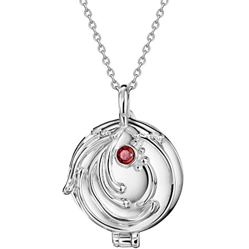 Neoglory Elena's Vervain Pendant Necklace Locket The Vampire Diaries S925 Silver 19.6inches Women -