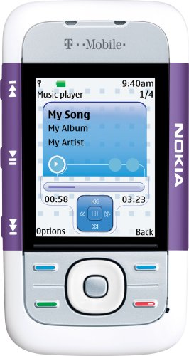 (Nokia 5300 XpressMusic Lilac Phone (T-Mobile))