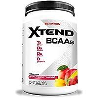 Scivation Xtend BCAA Powder, Strawberry Mango, 90 Servings