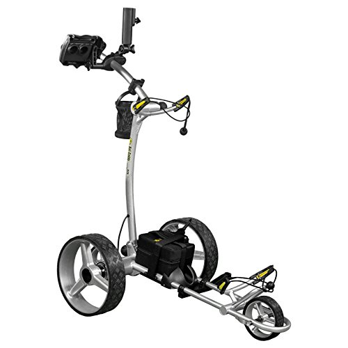 Bat-Caddy X4R Sport Remote Control Cart w/ Free Accessory Kit, 20 AH Lithium, Black