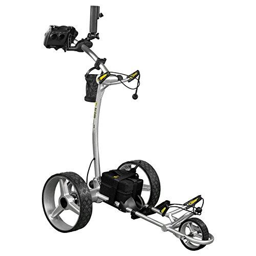 Bat-Caddy X4R Sport Remote Control Cart w/ Free Accessory Kit, 35Ah, Black
