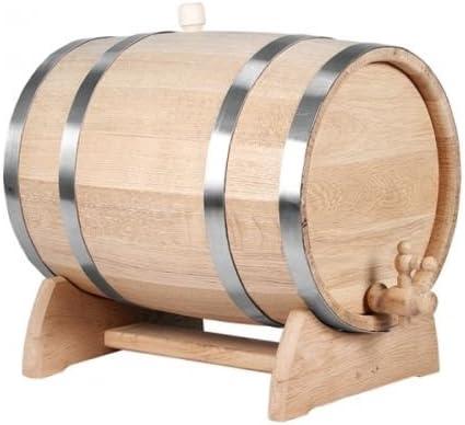 Secchio in legno quercia 5 L. NUOVO querce Secchio Legno Tino per vino botte SPUMANTE PORTAVASI