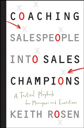 Sales training doesn't develop sales champions. Managers do.  The secret to developing a team of high performers isn't more training but better coaching.  When managers effectively coach their people around best practices, core competencies and the i...