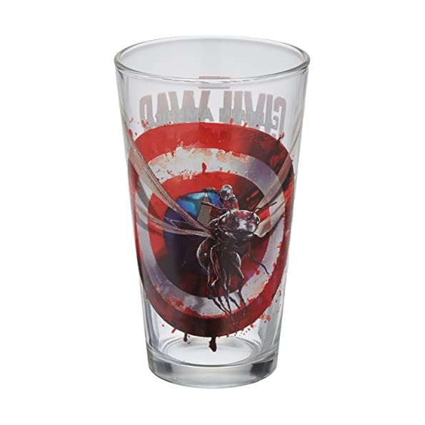 Captain America: Civil War Ant Man Toon Tumbler Pint Glass