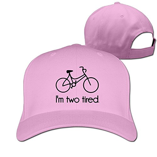 I'm Two Tired Bicycling Cycling Stylish Baseball Adult Unisex Cap