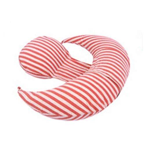 LKK Cushion Red Pillow Cushion Side Pillow Pregnant Woman Pillow Waist Side Sleeping Pillow Sleeping Side Pillow Pregnancy U-Pillow Multi-Purpose Pillow Pillow