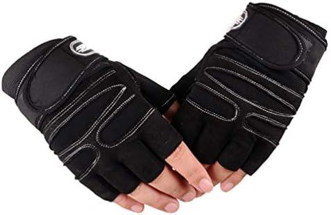 Lioobo 1 stuks handschoenen voor fitnessstudio antislip sporthandschoenen beschermende handschoenen voor buiten handschoenen voor gewichtheffen voor fietsen hardlopen wandelen