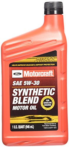 genuine ford fluid xo 5w30 qsp sae 5w 30 premium synthetic. Black Bedroom Furniture Sets. Home Design Ideas