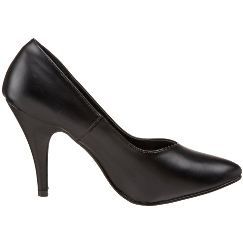 Pleaser Dream-420W - Scarpe con Tacco Donna, Nero (Blk Faux Leather), 48 EU