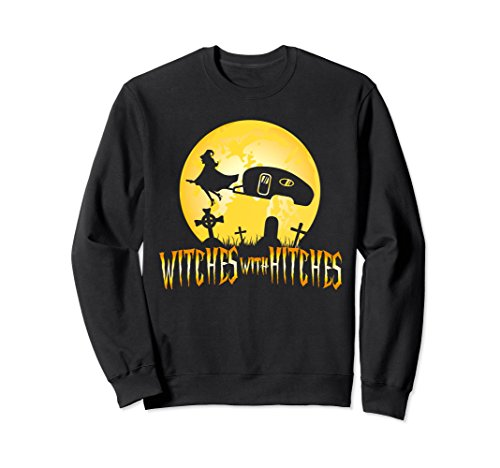 Halloween Witches Hitches Trailer RV Camping Camp Sweatshirt -