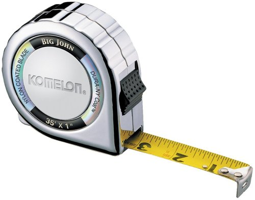 (Komelon 535C Big John 35-Foot Chrome Power Measuring Tape)