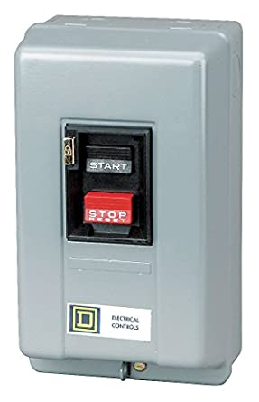 square d by schneider electric 2510mcg1 manual starter 230vac rh amazon com Telemecanique Switches Telemecanique Contactor