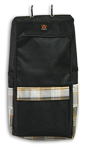 Kensington Deluxe All Around Halter/Bridle Bag, Black Citrus Slate, One Size ()
