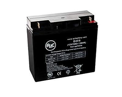 Solar Booster Pac ESP5500 Jump Starter 12V 22Ah Jump Starter Replacement Battery - This is an AJC Brand Replacement