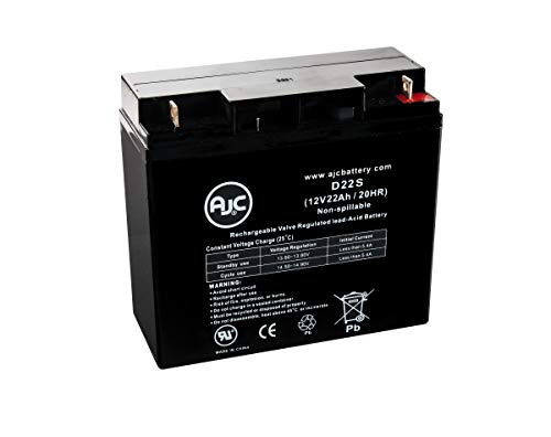 - Amstron AP-12220EV 12V 22Ah Sealed Lead Acid Replacement Battery - This is an AJC Brand Replacement