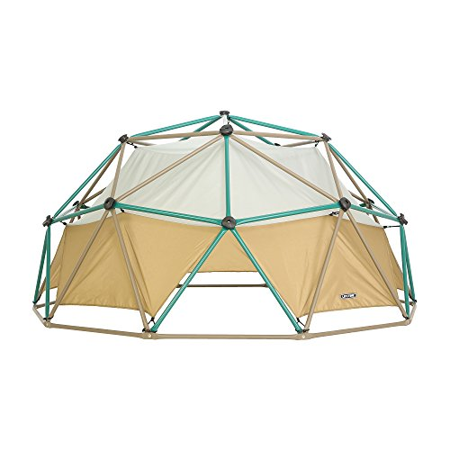 Lifetime Products Geometric Dome Climber with Attachable Canopy, Earth Tone, 10' Wide x 5' High
