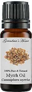 Grandma's Home Essential Oils - 100% Pure Therapeutic Grade (Myrrh, 10 mL)