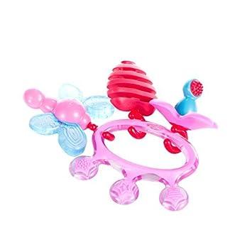 Amazon.com: Difrax – Anillo de dentición de la corona (rosa ...