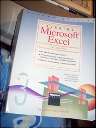Running Microsoft Excel: Douglas Cobb, Judy Mynhier: 9781556153235 ...