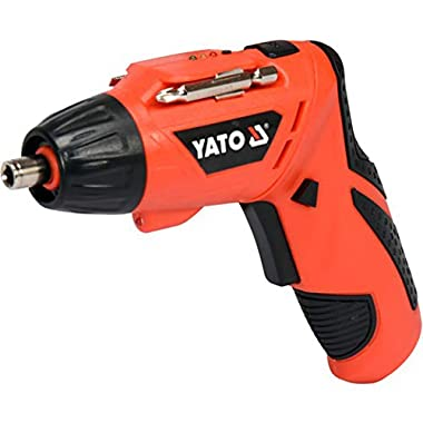 Yato YT-82760 Screwdriver 3,6V|Screwdriver Set for Home|Scredriver|Tools for Home|Home Tools Kit Set|Hand Tools|Power Tools Drill Machine|Drilling Machine|Screwdriver Set for Home 8