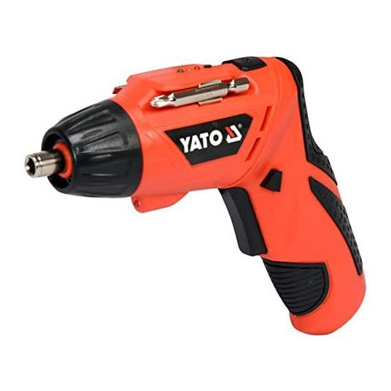 Yato YT-82760 Screwdriver 3,6V|Screwdriver Set for Home|Scredriver|Tools for Home|Home Tools Kit Set|Hand Tools|Power Tools Drill Machine|Drilling Machine|Screwdriver Set for Home 1