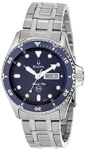 Bulova Men's 98C62  Marine Star Analog Japanese quartz Silver Watch