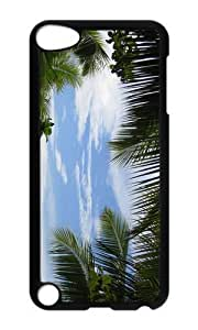 Ipod 5 Case,MOKSHOP Cool tropical background Hard Case Protective Shell Cell Phone Cover For Ipod 5 - PC Black by lolosakes by lolosakes
