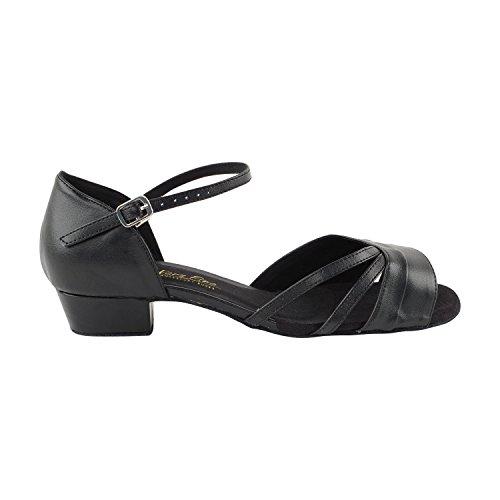 """Gold Taube Schuhe 50 Shades Of 1 """"Low Heel Tanz Kleid Schuhe: Frauen Komfort Ballsaal, Latin, Tango, Salsa, Schaukel, Praxis, Kunst von Party Party 6030 - Schwarz Pu"""