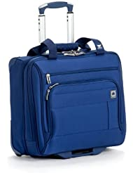 Delsey Luggage Helium Superlite Spinners Trolley Tote, Blue, One Size
