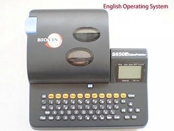 Amazon.com: s-650e Tubo de PVC Impresora Eletronic Lettering ...
