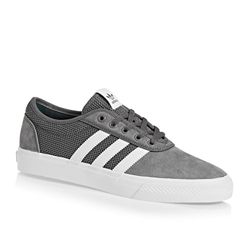 adidas Adiease, Chaussures de Skateboard Mixte Adulte Multicolore (Grey Four F17/ftwr White/real Teal S18)