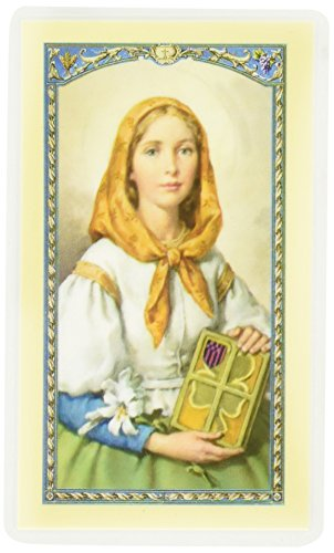 Prayer Laminated Holy Card (Hirten St Dymphna Laminated Catholic Holy Card Prayer Card)