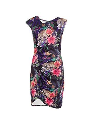 Multicolor Crispeta Para Mujer Casual multicolor Smash Vestido xdH4SwFqxX